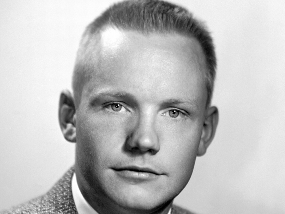 Neil Armstrong, 25 years old