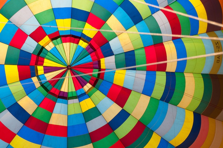 INSIDE THE BALLOON photo/gary arndt